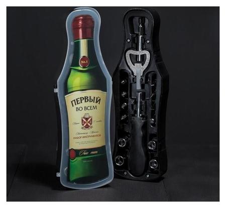 """Набор инструментов в бутылке """"True Man""""  NNB"""