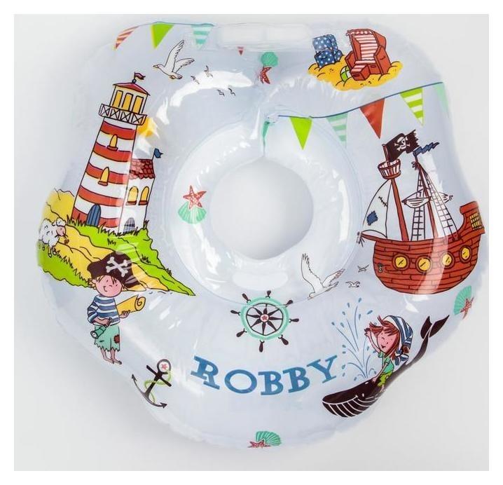 Надувной круг на шею для купания малышей Robby  Roxy kids