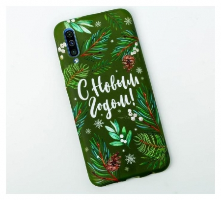 Чехол для телефона Samsung A50 «Веточки», 7,5 × 15,85 см NNB