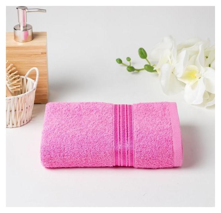 Полотенце махровое афина 03-058 70х140 см, розовый, хлопок 100%, 430г/м2  Счастье, когда он и она в удовольствие...