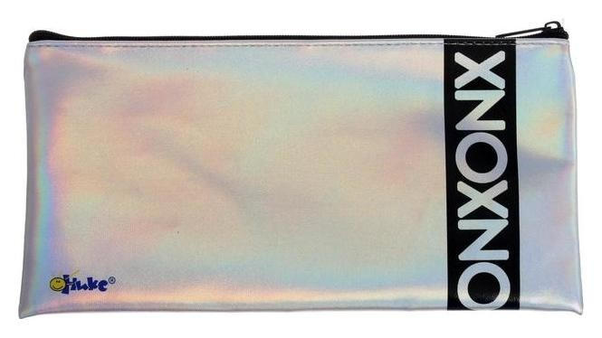 Пенал мягкий, 1 отделение, плоский, 120х220 мм, ПМП 17-111, с голографией, Сканируй 61360 Оникс