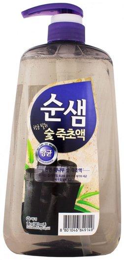 Средство для мытья посуды сунсэм бамбуковый уголь  SoonSaem