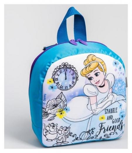 Рюкзак со светодиодом «Принцессы», Disney, 20 X 9 X 22 см  Disney