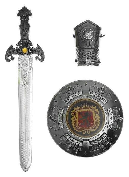 Набор богатыря: защита,меч, нарукавник  NNB
