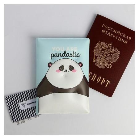 Воздушная паспортная обложка-облачко You are Pandastic ArtFox