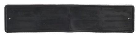 Рамка для автомобильного номера, силиконовая с пластиковым основанием NNB