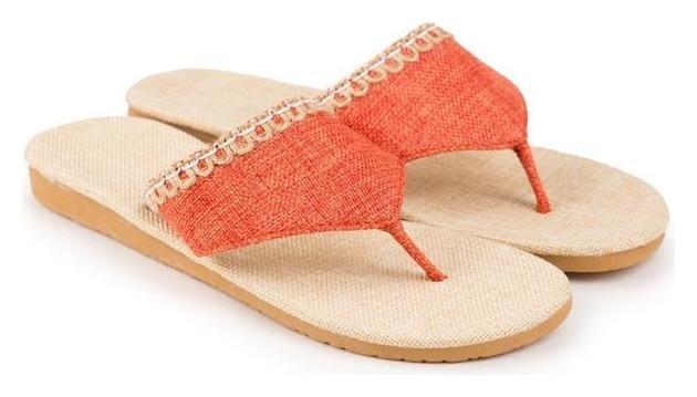 Тапочки женские, цвет оранжевый, размер 36-37  Tingo