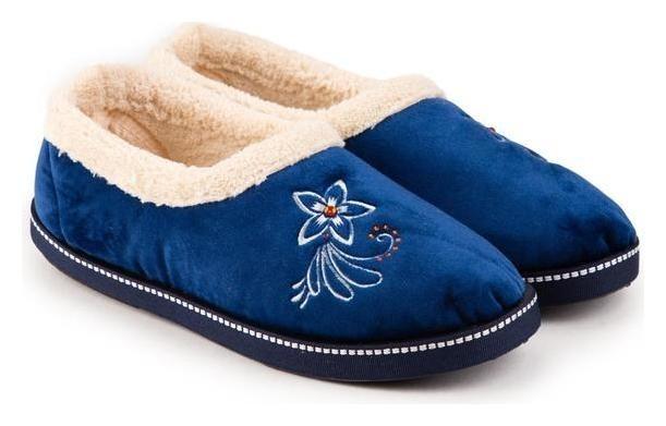 Тапочки женские, цвет синий, размер 37 Tingo