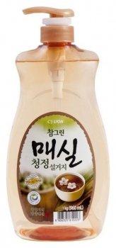 """Средство для посуды фруктов овощей """"Chamgreen"""" Японский абрикос"""