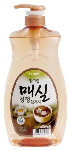 "Средство для посуды фруктов овощей ""Chamgreen"" Японский абрикос  CJ Lion"