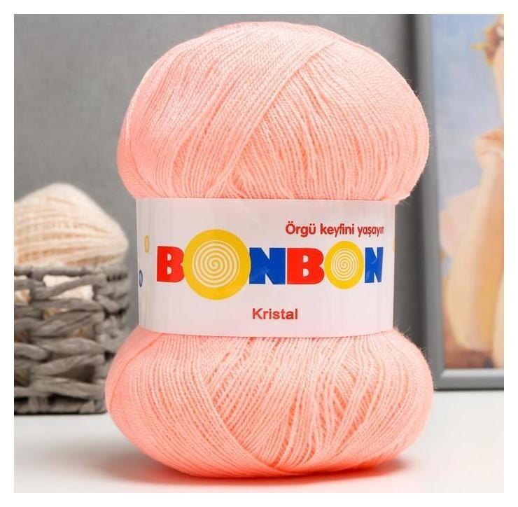 Пряжа Bonbon Kristal 100% акрил 475м/100гр (98501) NNB