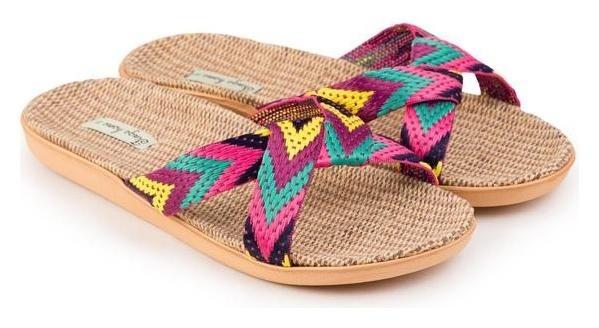 Тапочки женские, цвет фуксия, размер 40 Tingo