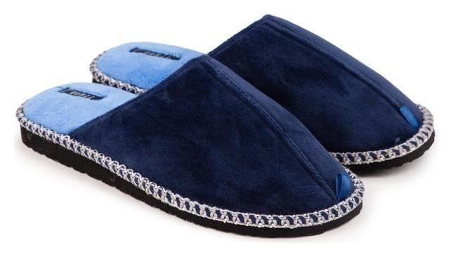 Тапочки мужские, цвет синий, размер 43 Tingo
