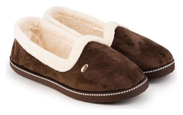 Тапочки женские, цвет коричневый, размер 38 Tingo