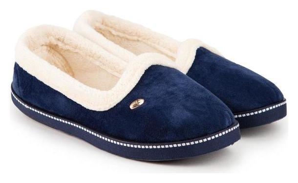 Тапочки женские, цвет синий, размер 39 Tingo