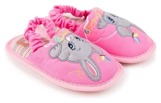 Тапочки детские, цвет розовый, размер 28-29 Tingo