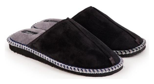 Тапочки мужские, цвет чёрный, размер 42 Tingo