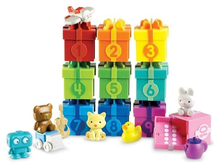 Развивающая игрушка «Подарочки с сюрпризом», 30 элементов Learning Resources