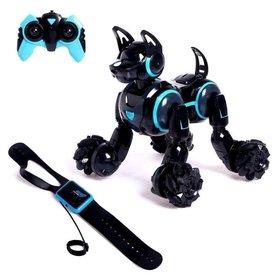 Робот - собака «Кибер пёс», управление жестами, световые и звуковые эффекты