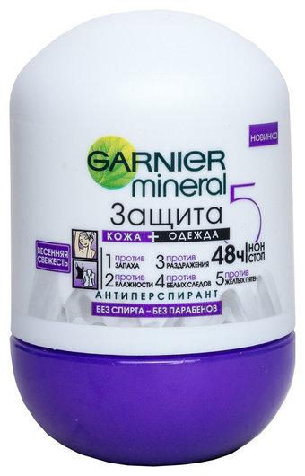 Роликовый дезодорант Весенняя Свежесть Garnier