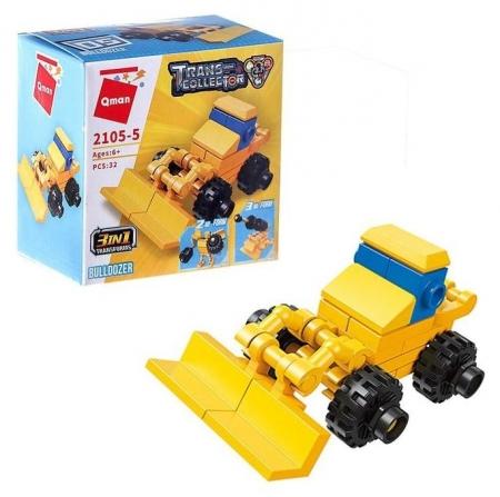 Конструктор «Транспорт», 10 видов  Enlighten Brick (Qman)