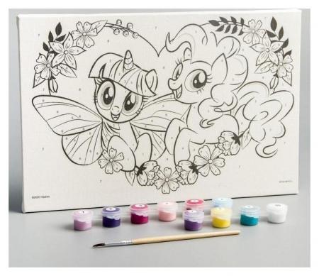 Картина по номерам «Сердце», My Little Pony, 20 х 30 см Hasbro