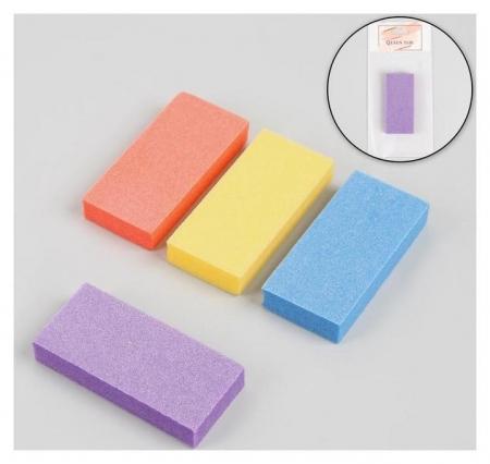 Баф наждачный для ногтей, двусторонний, 7,6 × 3,5 × 1,3 см Queen fair