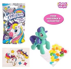 Игрушка-сюрприз «Сказочный мир пони!», с конфетами