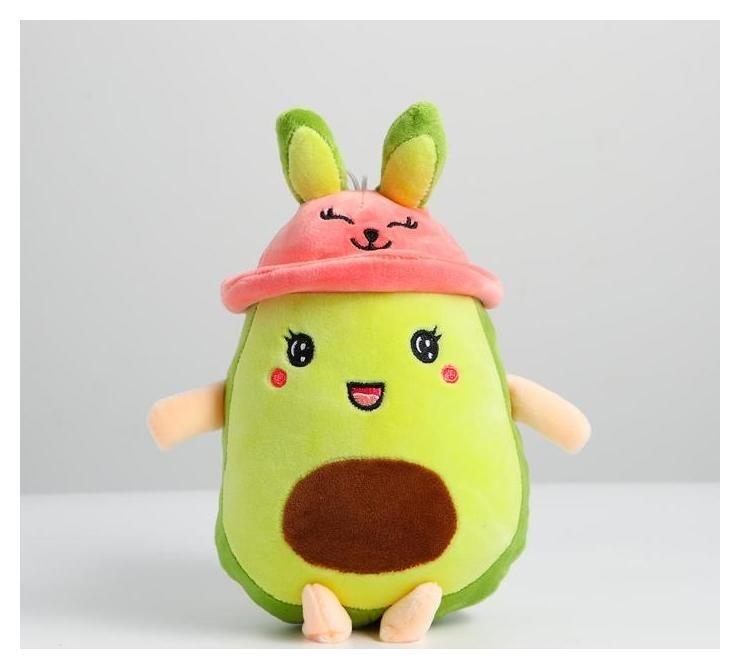"""Мягкая игрушка """"Авокадо"""" в панамке, с ушами  NNB"""