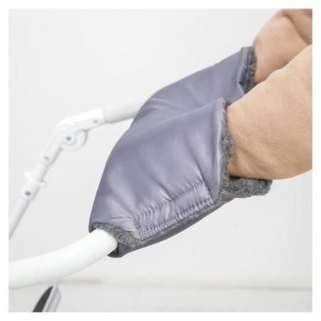 Муфта на ручку коляски, цвет серый  NNB