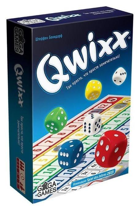 Настольная игра «Квикс» Gaga games