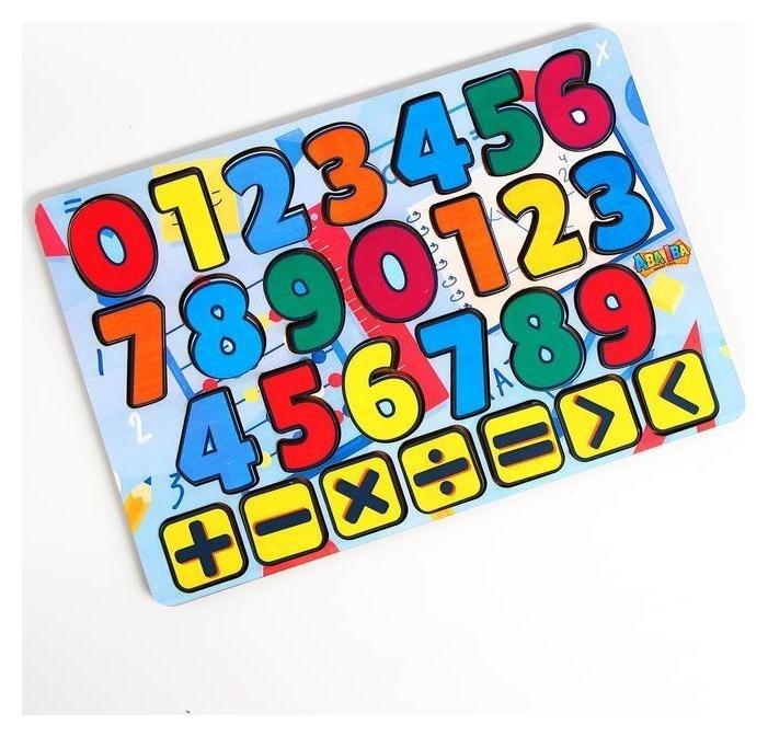 Планшет обучайка «Учимся считать»  Aba Iba