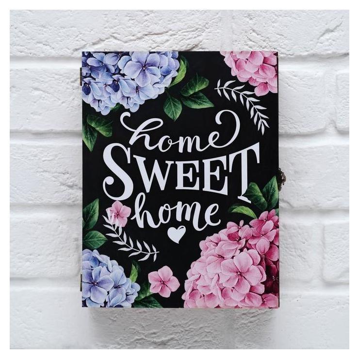 Ключница-шкатулка Home Sweet Home 26 х 20 х 6 см NNB