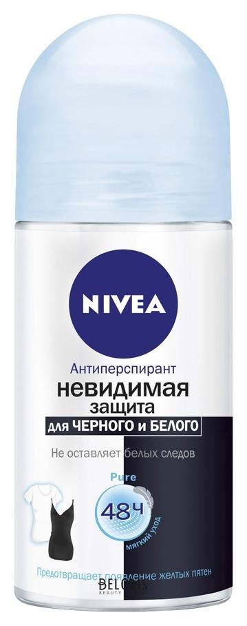 Купить Дезодорант для тела Nivea, Дезодорант-антиперспирант Невидимая защита Pure, Германия