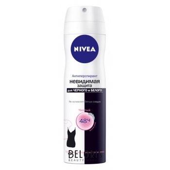 Дезодорант-спрей Невидимая защита для черного и белого Clear Nivea