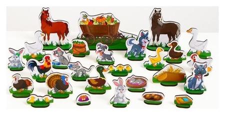 Домашние животные №2 (54 предмета) ZOO Party Манюня
