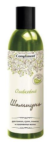 Шампунь для тонких, сухих, ломких и посеченных волос Оливковый  Compliment