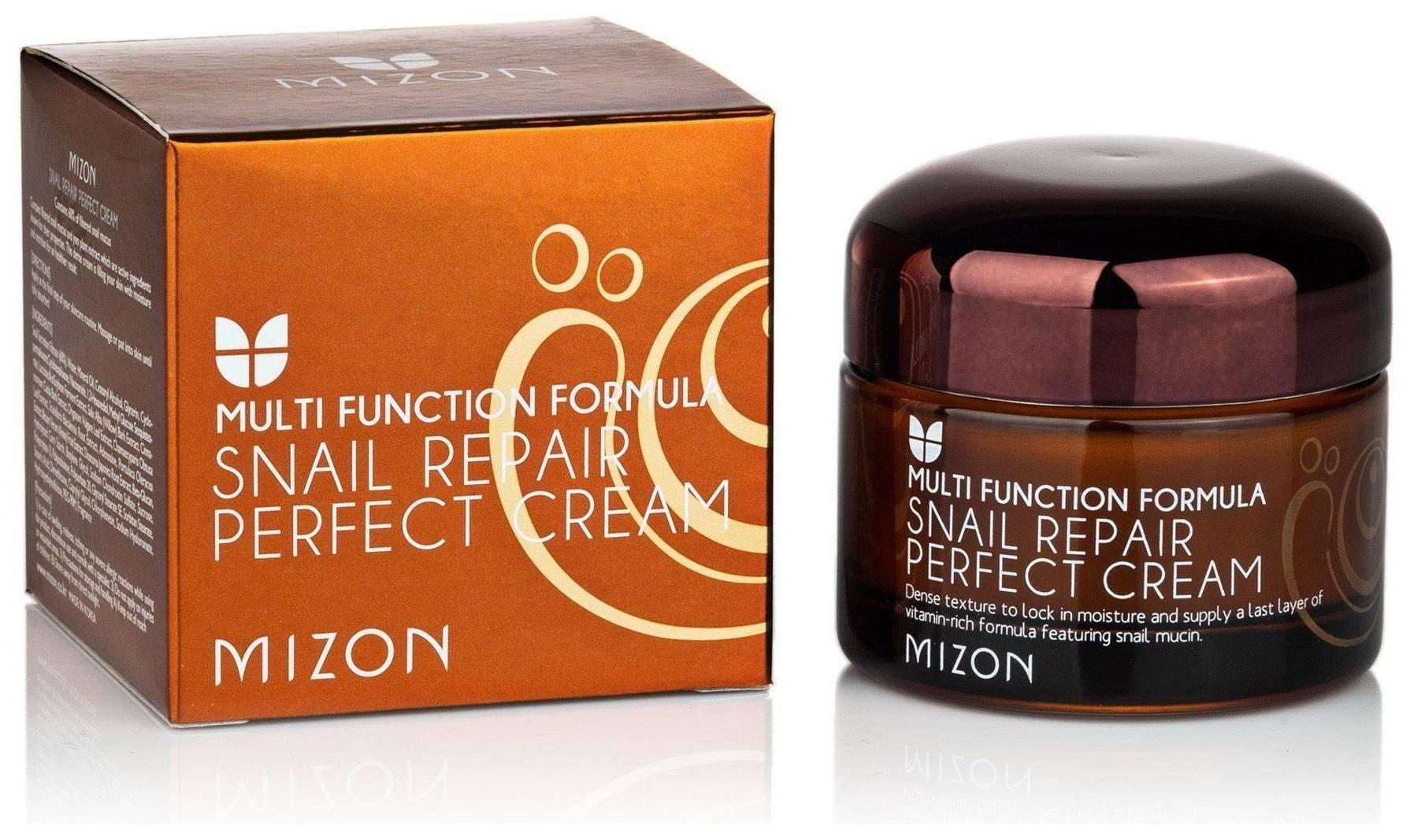 Питательный крем для лица с муцином улитки Perfect Cream  Mizon