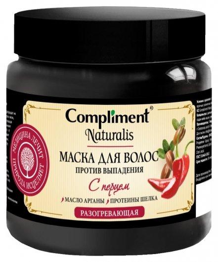 Маска для волос с перцем разогревающая Против выпадения  Compliment