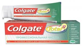 """Зубная паста Total 12 """"Профессиональная чистка"""" гель"""