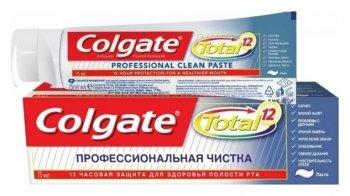 """Зубная паста Total 12 """"Профессиональная чистка"""""""