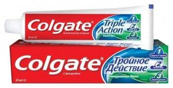 """Зубная паста """"Тройное действие"""""""