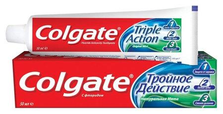 """Зубная паста """"Тройное действие""""  Colgate"""