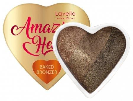 Бронзер запеченный 3-х цветный Baked Bronzer  Lavelle