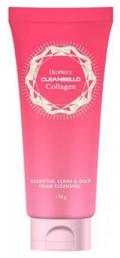 Пилинг-гель с коллагеном Cleanbello Collagen Essential Clean & Deep Peeling Vegeta  DEOPROCE