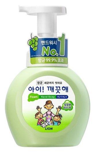 Мыло пенное для рук с антибактериальным эффектом Ai - Kekute с ароматом винограда  CJ Lion