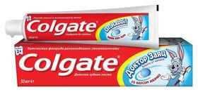 "Зубная паста ""Доктор заяц"" со вкусом жвачки  Colgate"