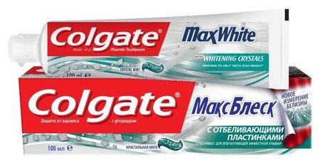 """Зубная паста """"МаксБлеск""""  Colgate"""
