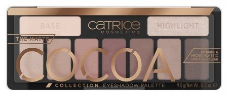 Палетка теней для век The Matte Cocoa Collection Eyeshadow Palette Chocolate Lover  Catrice