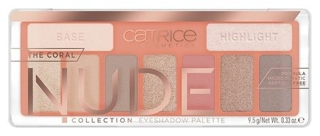 Палетка теней для век The Coral Nude Collection Eyeshadow Palette Peach Passion  Catrice